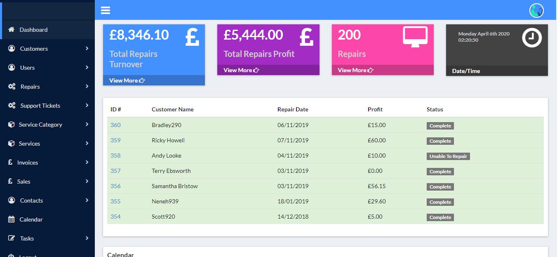 Custom CMS Development for the website