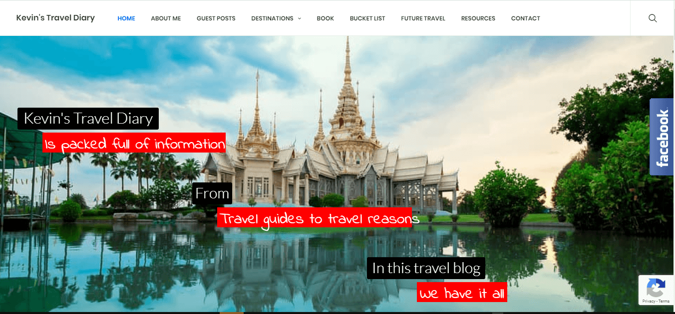 Traveler Portfolio website